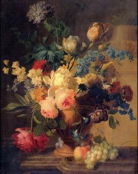 unknow artist Floral, beautiful classical still life of flowers 029
