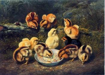 unknow artist chickens 197