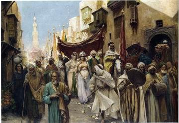 unknow artist Arab or Arabic people and life. Orientalism oil paintings 563
