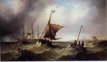 unknow artist Seascape, boats, ships and warships. 43