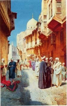 unknow artist Arab or Arabic people and life. Orientalism oil paintings  413