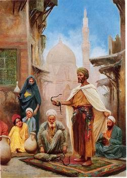 unknow artist Arab or Arabic people and life. Orientalism oil paintings  415