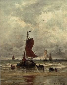 unknow artist Seascape, boats, ships and warships. 61