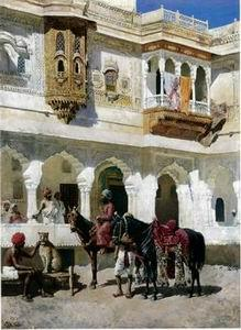 unknow artist Arab or Arabic people and life. Orientalism oil paintings 25
