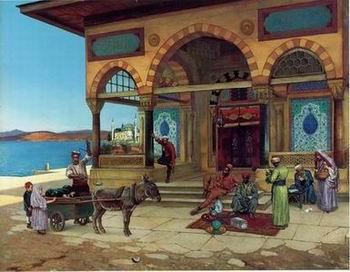 unknow artist Arab or Arabic people and life. Orientalism oil paintings 120