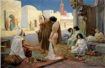 unknow artist Arab or Arabic people and life. Orientalism oil paintings 15