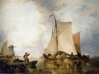unknow artist Seascape, boats, ships and warships. 124
