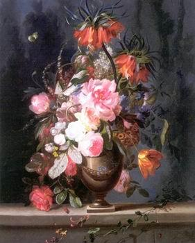 unknow artist Floral, beautiful classical still life of flowers.131