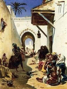 unknow artist Arab or Arabic people and life. Orientalism oil paintings 149