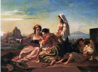 unknow artist Arab or Arabic people and life. Orientalism oil paintings 591