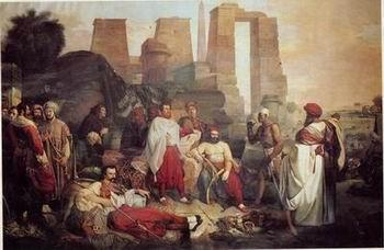 unknow artist Arab or Arabic people and life. Orientalism oil paintings 70