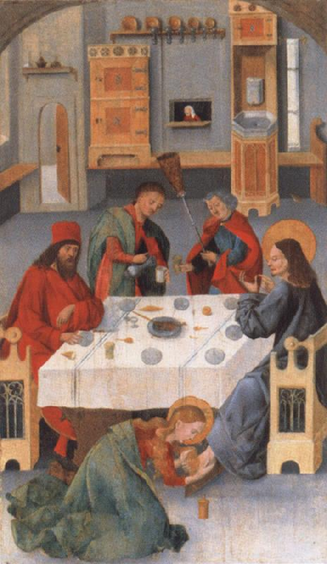 unknow artist the meal in the house of the Pharisaers Simon 15 Jh