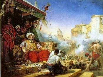 unknow artist Arab or Arabic people and life. Orientalism oil paintings 76