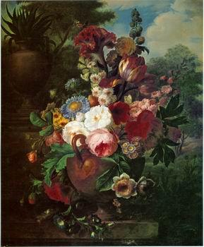 unknow artist Floral, beautiful classical still life of flowers.118