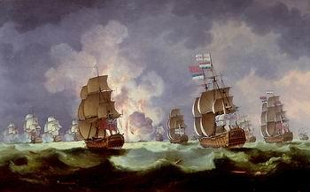 unknow artist Seascape, boats, ships and warships. 20