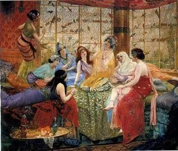 unknow artist Arab or Arabic people and life. Orientalism oil paintings  227
