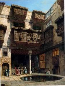 unknow artist Arab or Arabic people and life. Orientalism oil paintings 182