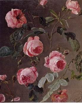 unknow artist Floral, beautiful classical still life of flowers 014