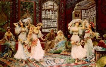 unknow artist Arab or Arabic people and life. Orientalism oil paintings  506