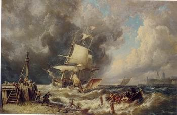 unknow artist Seascape, boats, ships and warships. 58