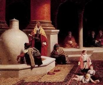 unknow artist Arab or Arabic people and life. Orientalism oil paintings  282