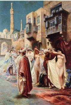 unknow artist Arab or Arabic people and life. Orientalism oil paintings  414