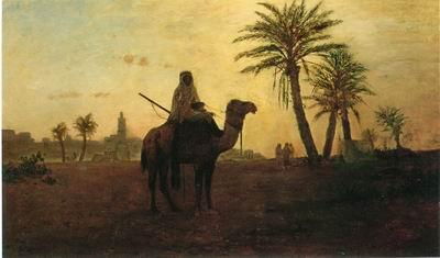 unknow artist Arab or Arabic people and life. Orientalism oil paintings 588