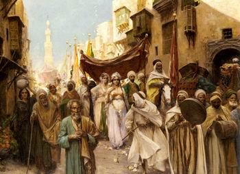 unknow artist Arab or Arabic people and life. Orientalism oil paintings  507