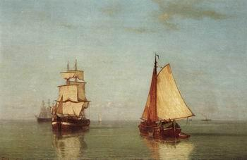 unknow artist Seascape, boats, ships and warships. 148