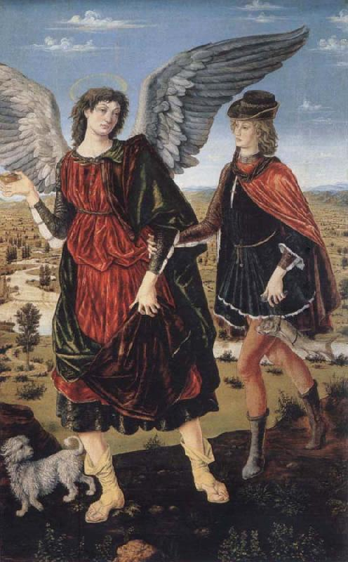 unknow artist Tobias and the angel