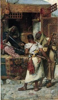 unknow artist Arab or Arabic people and life. Orientalism oil paintings  434