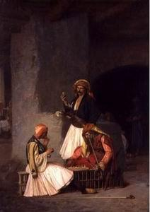 unknow artist Arab or Arabic people and life. Orientalism oil paintings 350