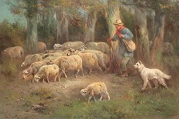 unknow artist Sheep 108