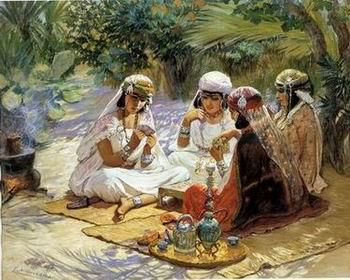 unknow artist Arab or Arabic people and life. Orientalism oil paintings  228