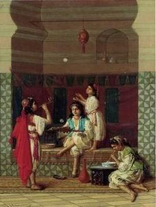 unknow artist Arab or Arabic people and life. Orientalism oil paintings 210