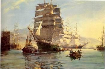 unknow artist Seascape, boats, ships and warships. 32