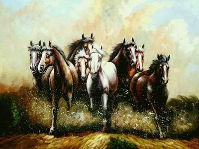 unknow artist Horses 053