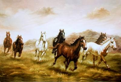 unknow artist Horses 03