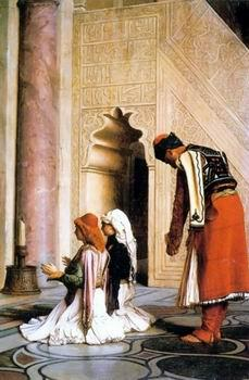 unknow artist Arab or Arabic people and life. Orientalism oil paintings  465