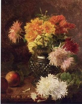 unknow artist Floral, beautiful classical still life of flowers 020