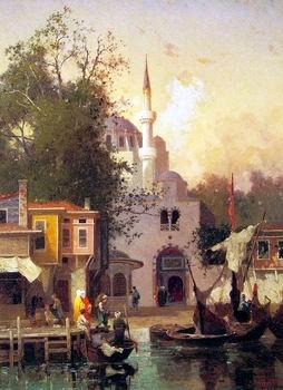 unknow artist Arab or Arabic people and life. Orientalism oil paintings  485