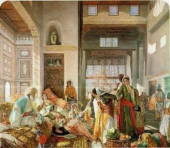 unknow artist Arab or Arabic people and life. Orientalism oil paintings  256