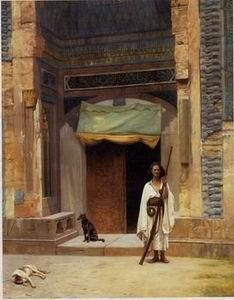 unknow artist Arab or Arabic people and life. Orientalism oil paintings 63