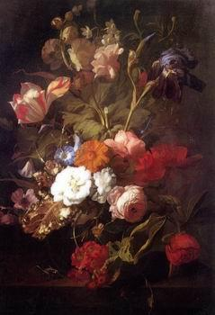 unknow artist Floral, beautiful classical still life of flowers.128