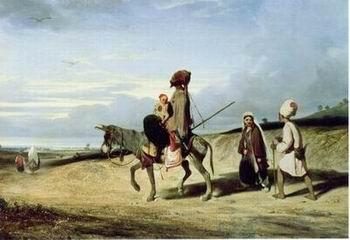 unknow artist Arab or Arabic people and life. Orientalism oil paintings 121