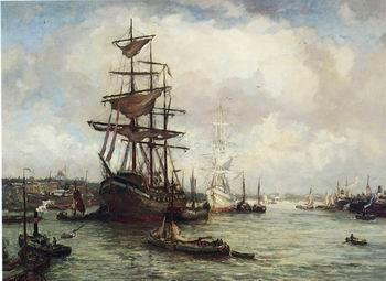 unknow artist Seascape, boats, ships and warships. 78