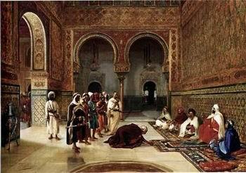 unknow artist Arab or Arabic people and life. Orientalism oil paintings 42