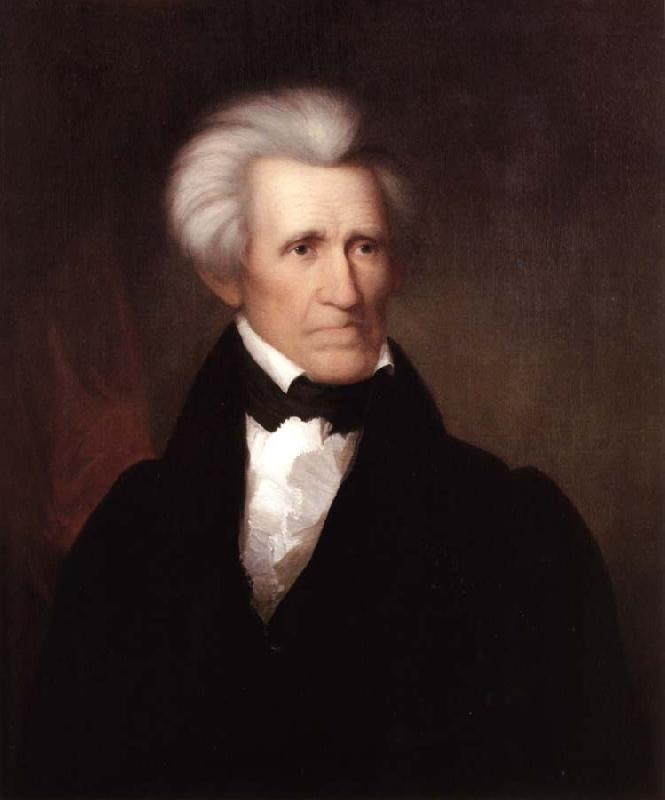 Asher Brown Durand Andrew Jackson