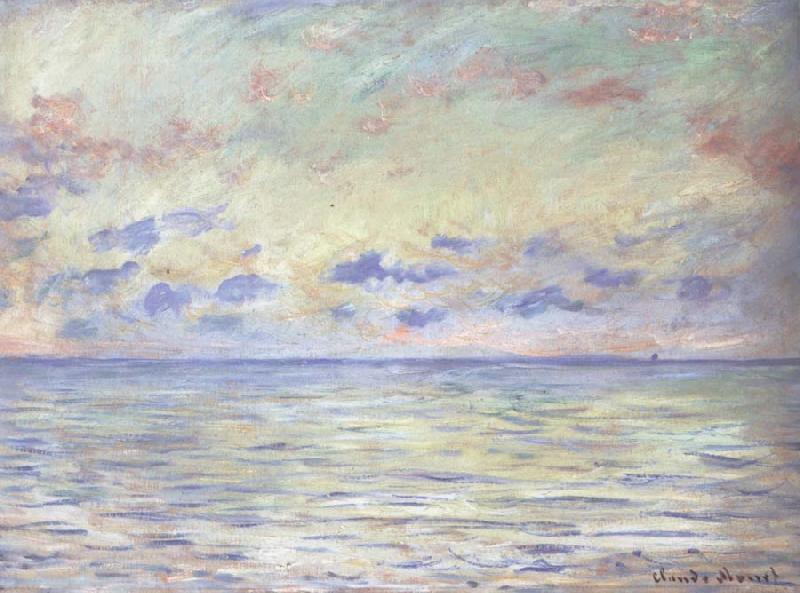 Claude Monet Marine near Etretat