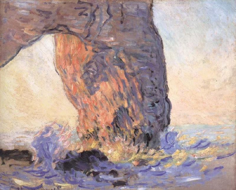 Claude Monet Waves at the Manneporte